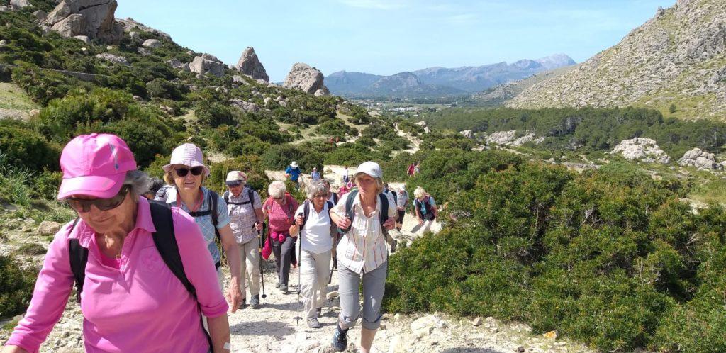 Wandergruppe Tramuntana
